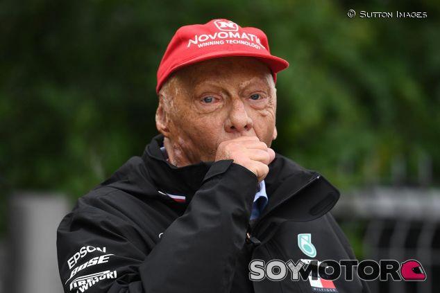 Niki Lauda en una imagen de archivo - SoyMotor
