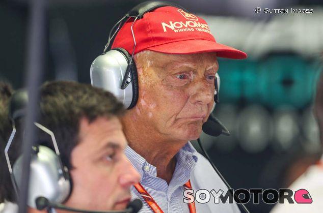 Niki Lauda en Monza - SoyMotor.com