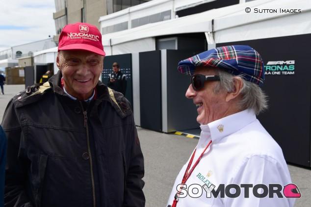 "Stewart: ""Lauda será recordado para siempre"" - SoyMotor.com"