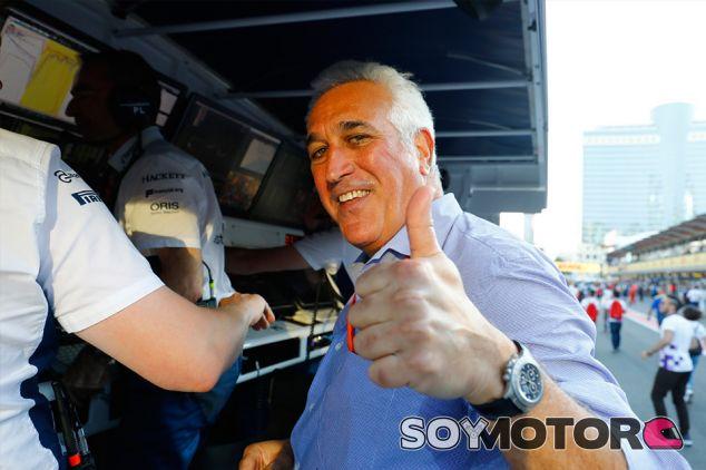 Lawrence Stroll en Bakú - SoyMotor.com