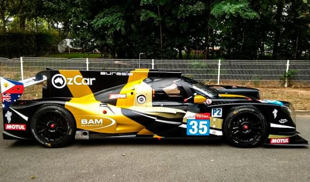 Éste es el coche de Roberto Merhi para las 24 Horas de Le Mans 2020 - SoyMotor.com