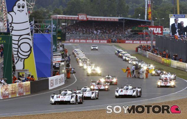 Salida de las 24 horas de Le Mans - LaF1