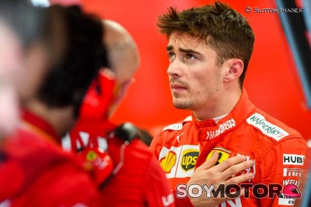 """Leclerc: """"No volveré a chocar contra Vettel"""" - SoyMotor.com"""