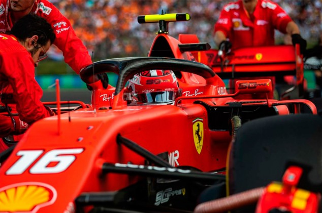 Ferrari, sorprendido por la progresión de Leclerc - SoyMotor.com