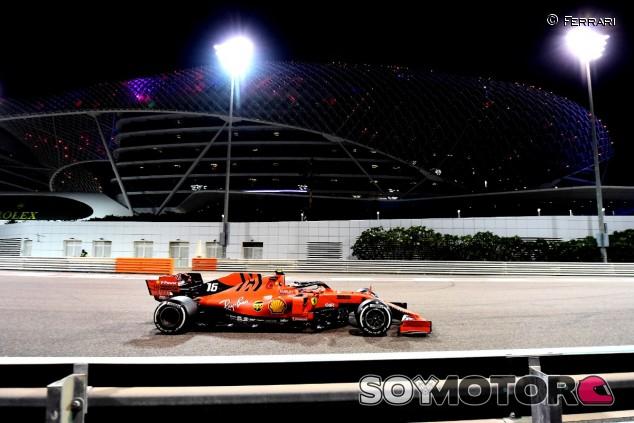 Leclerc en Yas Marina - SoyMotor.com