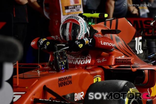 Charles Leclerc al final del GP de Baréin F1 2019 - SoyMotor