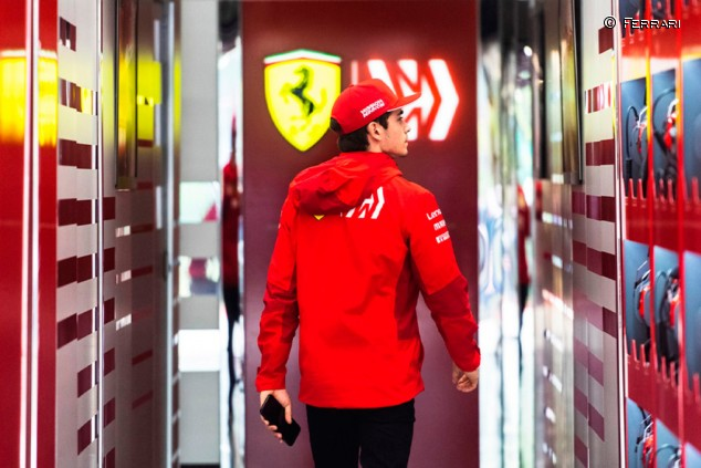 Ganar en Monza hizo a Leclerc sentirse parte de Ferrari - SoyMotor.com
