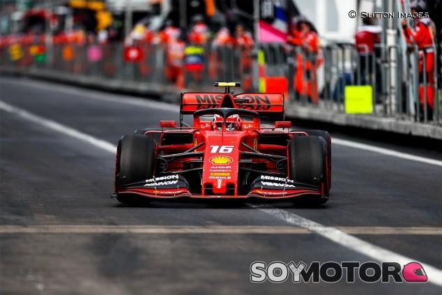 Charles Leclerc en el GP de México F1 2019 - SoyMotor.com