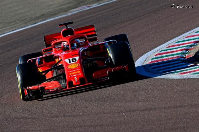 Leclerc supera las 100 vueltas con el Ferrari SF71-H en Fiorano - Soymotor.com