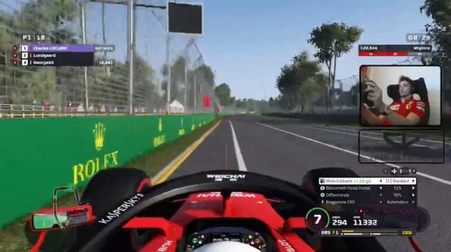 Leclerc no encuentra rival en el GP de Australia virtual - SoyMotor.com