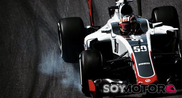 Leclerc montado al Haas durante esta temporada - LaF1
