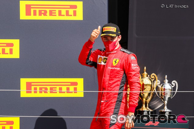 """Leclerc pesca un nuevo podio: """"Hemos aprovechado las oportunidades"""" - SoyMotor.com"""
