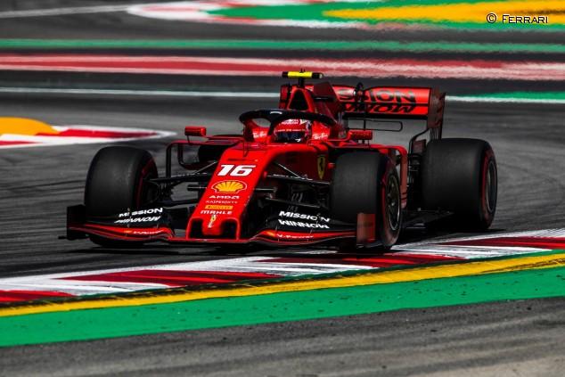 Charles Leclerc en el GP de España F1 2019 - SoyMotor