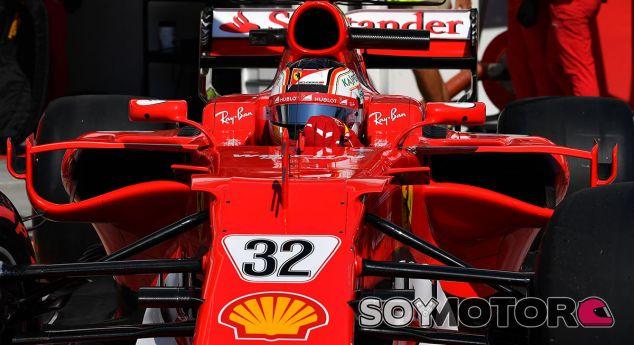 Leclerc en los test post-GP Hungría 2017 - SoyMotor