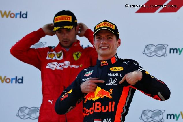 Charles Leclerc y Max Verstappen en el GP de Austria F1 2019 - SoyMotor