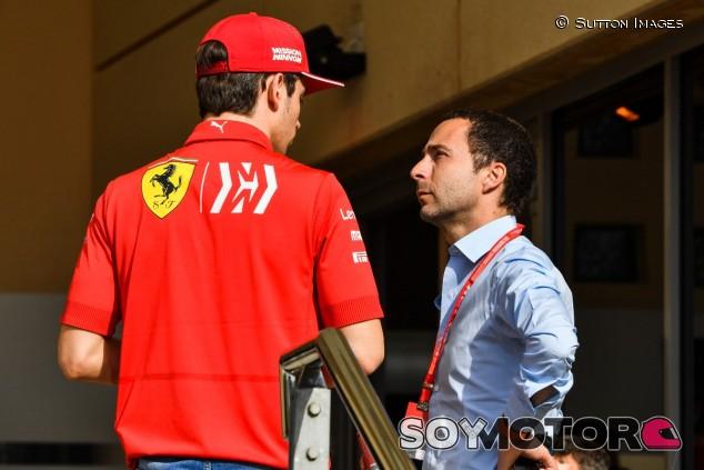 Charles Leclerc y Nicolas Todt en una imagen de archivo - SoyMotor.com