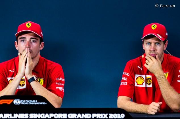 "Tener a Vettel y Leclerc en Ferrari es ""una ventaja"", insiste Binotto - SoyMotor.com"