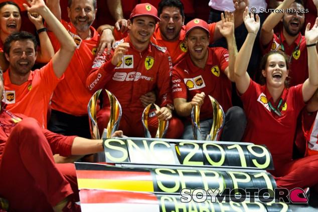 Vettel, votado Piloto del Día del GP de Singapur F1 2019 - SoyMotor.com