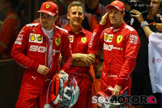 La política interna influyó en el distanciamiento de Vettel y Ferrari - SoyMotor.com