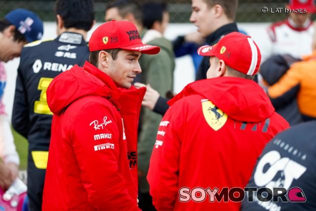 """Leclerc, """"feliz"""" de seguir en 2021 con Vettel: """"Hemos encontrado equilibrio"""""""