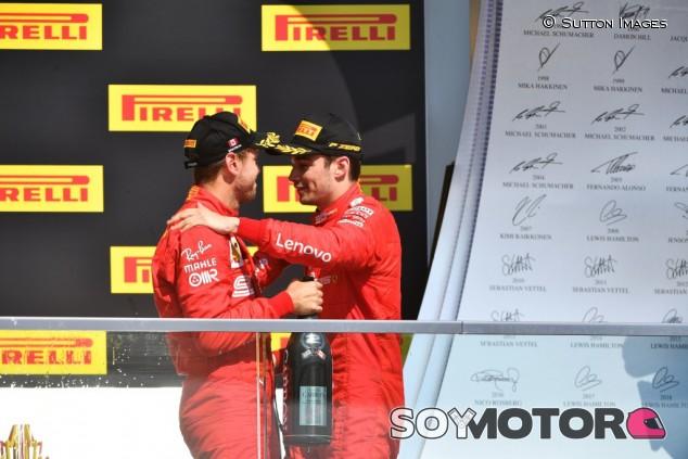 Leclerc desconocía la sanción de Vettel en Montreal – SoyMotor.com