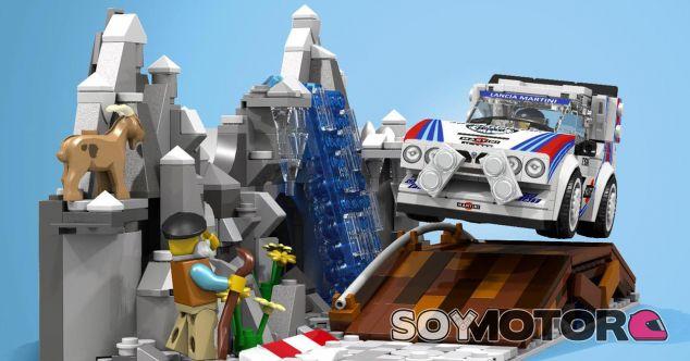 El Lancia Delta S4 del Grupo B en Lego - SoyMotor.com