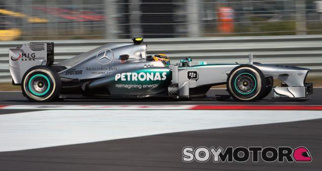 Lewis Hamilton se ha impuesto en las dos primeras sesiones del GP de Corea - LaF1