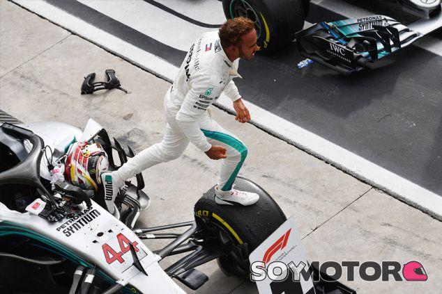 Lewis Hamilton en Monza - SoyMotor.com