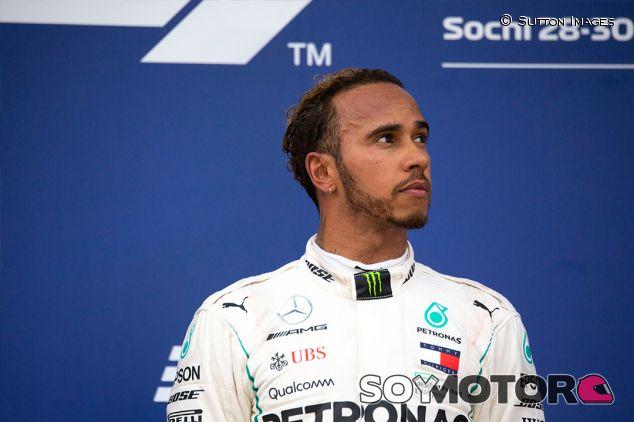 Lewis Hamilton en Sochi - SoyMotor.com