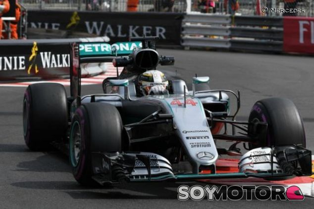 Hamilton se ve en la lucha por la pole - LaF1