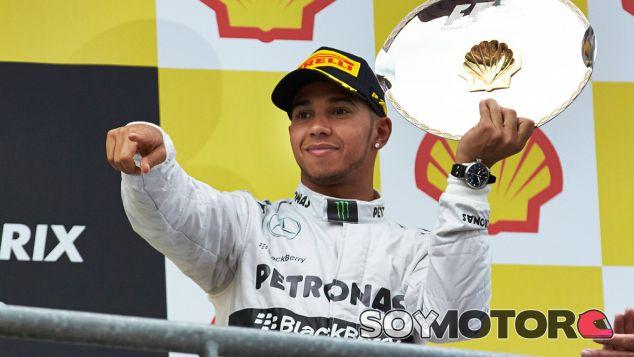 Lewis Hamilton, tercero en el GP de Bélgica F1 2013 - LaF1