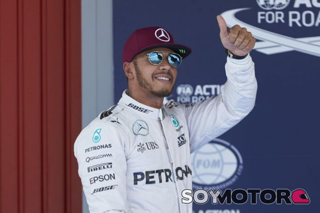Hamilton quiere acabar su carrera deportiva en Mercedes - LaF1