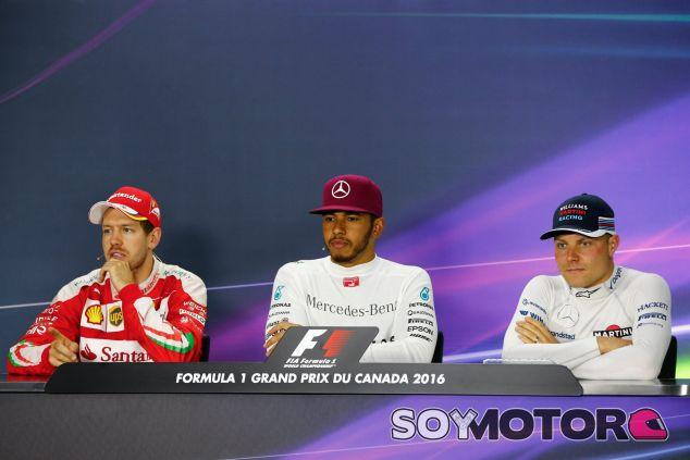 Estos fueron los tres primeros clasificados del GP de Canadá - LaF1