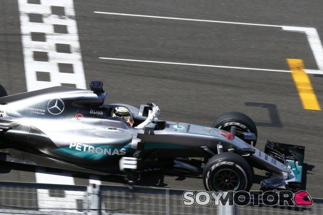 Hamilton logró la 47ª victoria de su trayectoria en Silverstone - LaF1