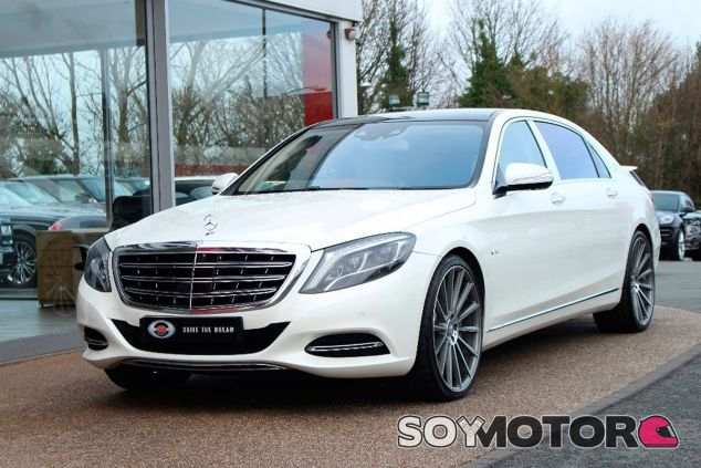 ¿Quieres sentarte en el coche de Hamilton? Su Mercedes-Maybach está en venta - SoyMotor.com