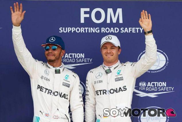 Wolff está decidido a afrontar las luchas entre Hamilton y Rosberg - LaF1