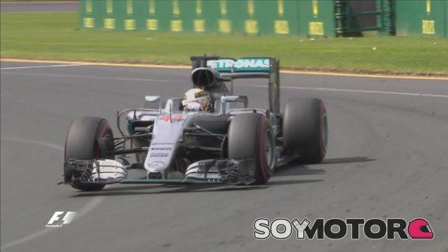 Hamilton, líder en los tres entrenamientos libres - LaF1
