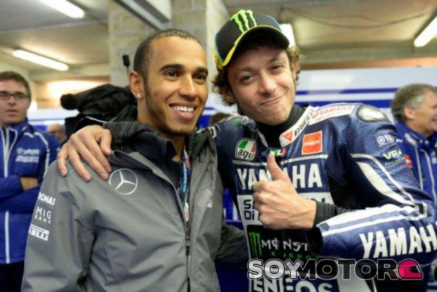 Hamilton alaba  la consistencia de Rossi - LaF1