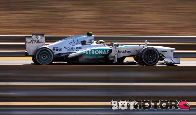 Lewis Hamilton en el Hungaroring