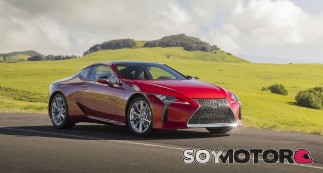 El Lexus LC Convertible tendrá los mismos motores que la versión coupé - SoyMotor