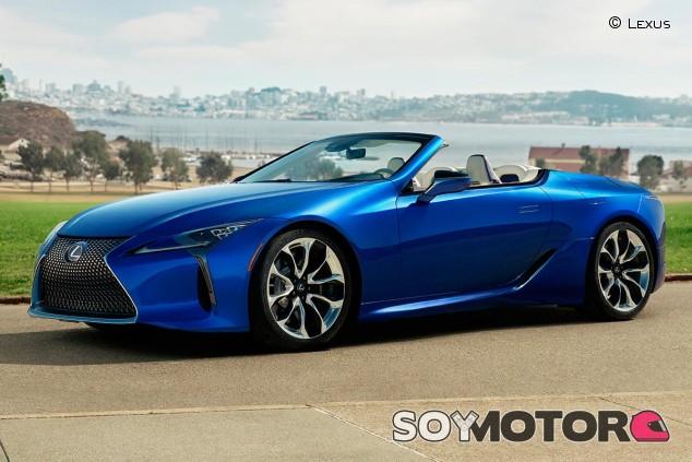 Lexus LC 500 Cabrio - SoyMotor.com