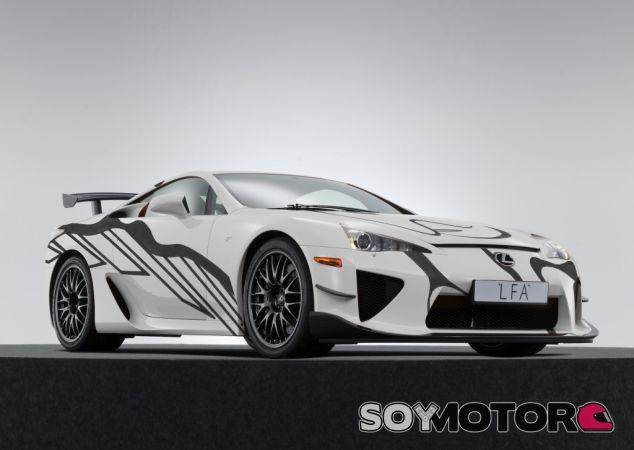 Lexus LFA Art Car - SoyMotor.com