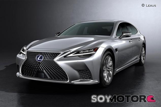 Lexus LS 500 2021 - SoyMotor.com
