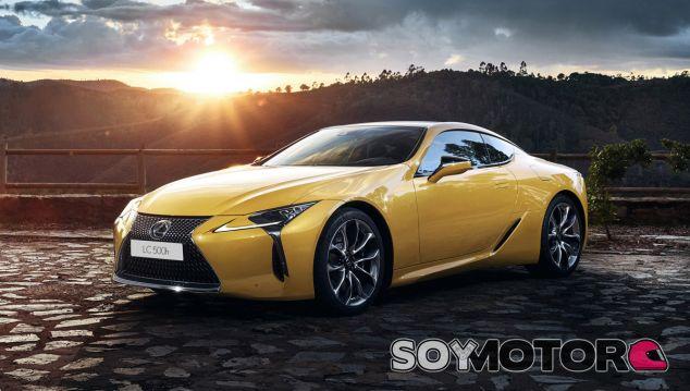 Lexus LC 500h Yellow Edition: exclusividad en tonos amarillos