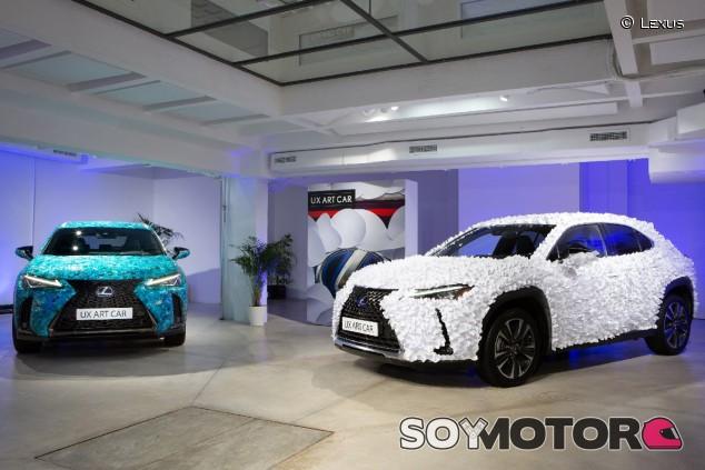 Lexus Art Car: puro arte con el UX como lienzo - SoyMotor.com