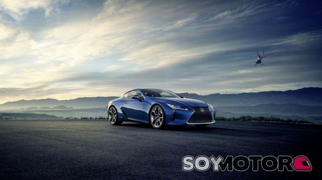El Lexus LC 500h unifica lujo, deportividad y ahora una mecánica híbrida - SoyMotor
