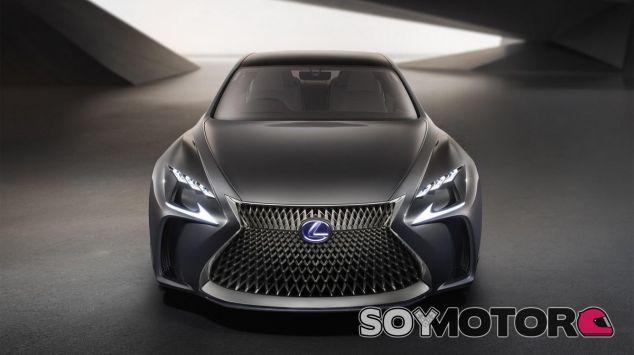 La futura berlina de Lexus se mueve con pila de hidrógeno - SoyMotor