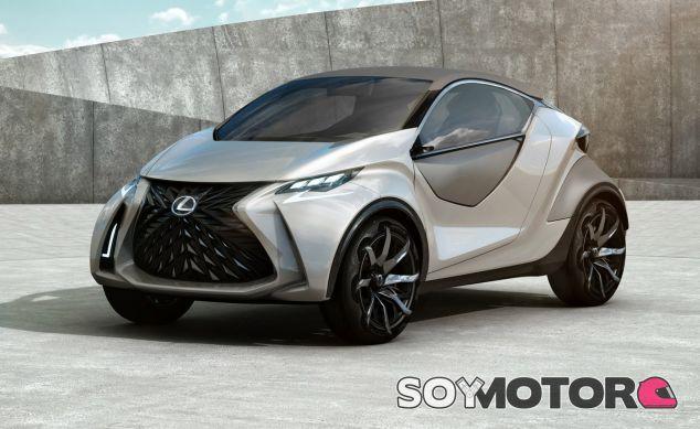 La foto corresponde al Lexus LF-SA Concept, presentado en Ginebra - SoyMotor
