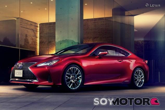 Lexus RC 300h - SoyMotor.com