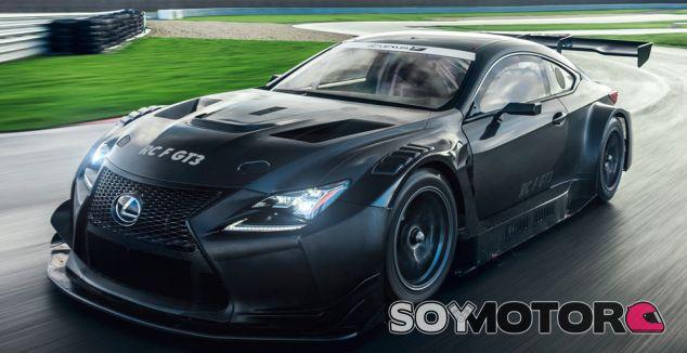 Lexus RC F GT3: deliciosamente siniestro - SoyMotor.com